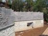 Каменный цоколь дома