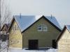 Фасад теплого дома с отделкой