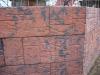 Облицованная стена цоколя