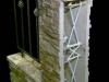 Вариант столбов из плит Техноблок