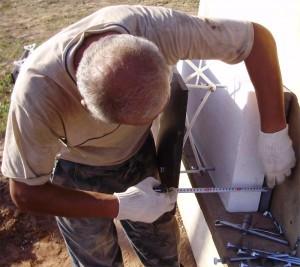 Строительство дома, загородного коттеджа, дом из пеноблока с кирпичем