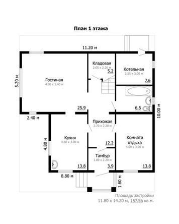 Адаптация каркасного дома 1 этаж