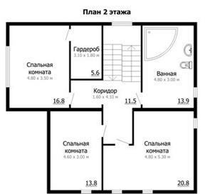 Адаптация каркасного дома 2 этаж