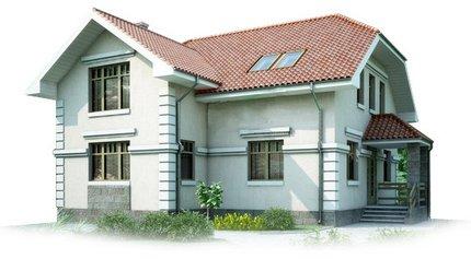 Адаптация каркасного дома Фасад
