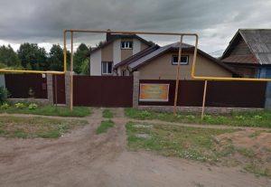 Забор на ул. Камбарская, д.10 в г. Ижевске