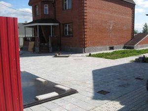 Цоколь для дома из Кирпича в д. Русский Вожой