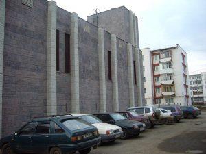 Облицовка здания ЦТП в Октябрьском районе г. Ижевска