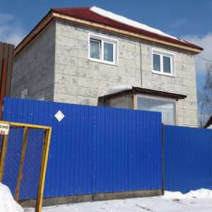 Дом на Восточном поселке 8м на 8м